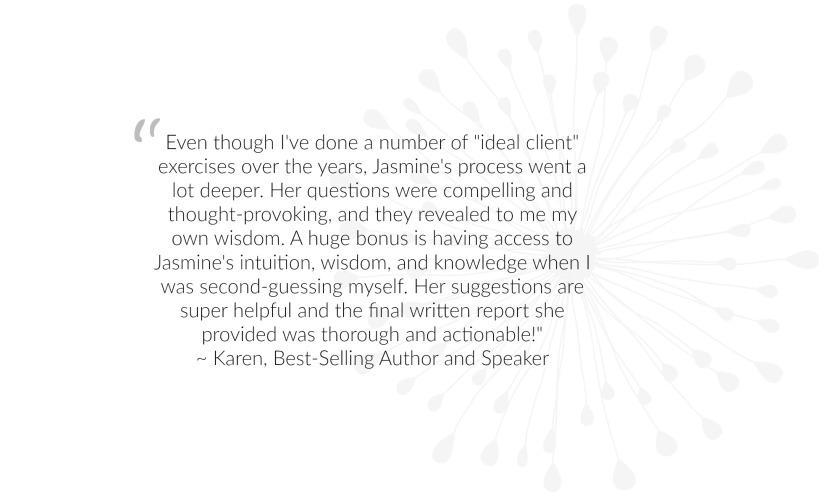 Karen Testimonial